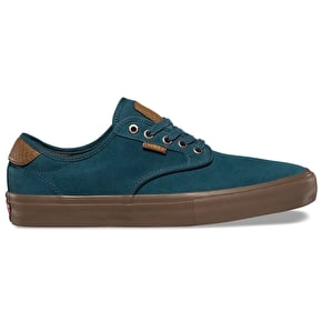 Vans Chima Ferguson Pro Skate Shoes - (Suede) Atlantic Deep/Gum
