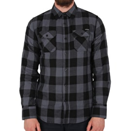 Santa Cruz Derby Shirt - Charcoal/Black