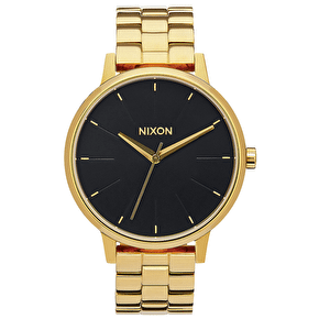Nixon Kensington Ladies Watch - All Gold/Black Sunray