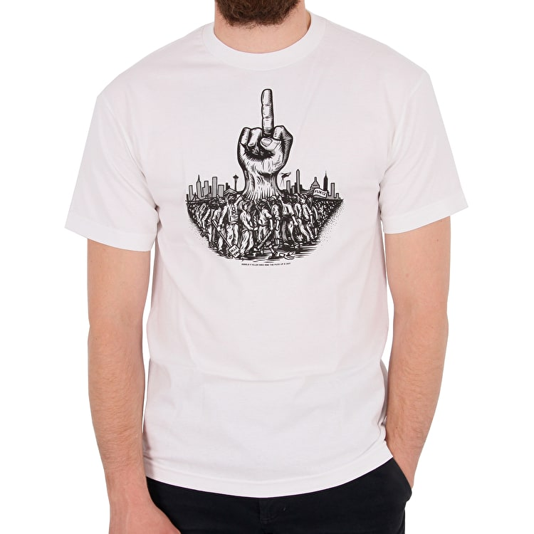 Rebel8 x Killer Mike Risen T-Shirt - White