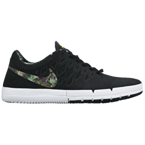 Nike Free SB Shoes - Black/Gorge Green