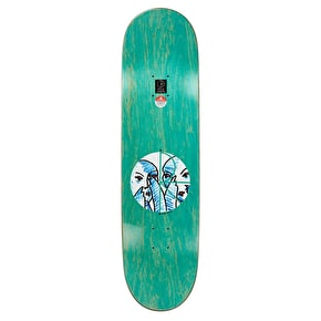 Polar Doodle Faces Skateboard Deck - Herrington 8