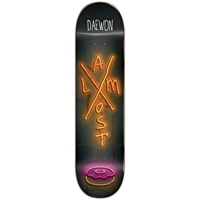 Almost X-Neon R7 Skateboard Deck - Daewon 7.75''