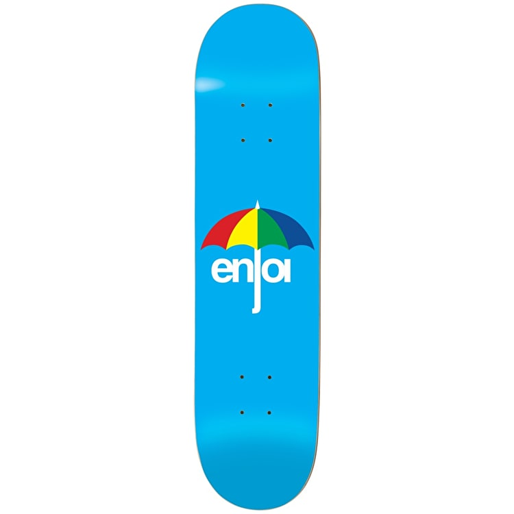 Enjoi Umbrella Skateboard Deck - Blue 8.25""