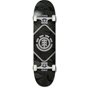 Element Map Camo Complete Skateboard - 7.75