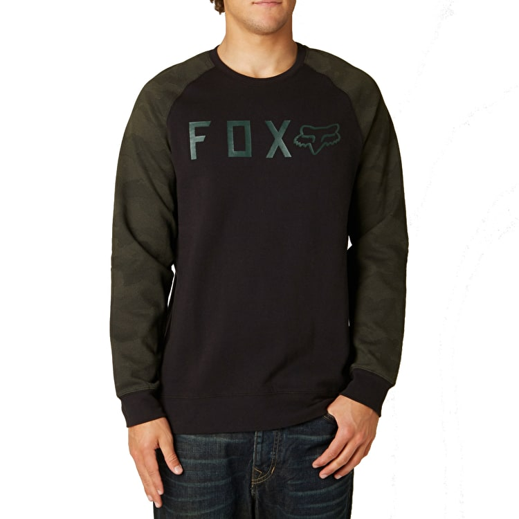 Fox Tresspass Crew Fleece - Camo/Black