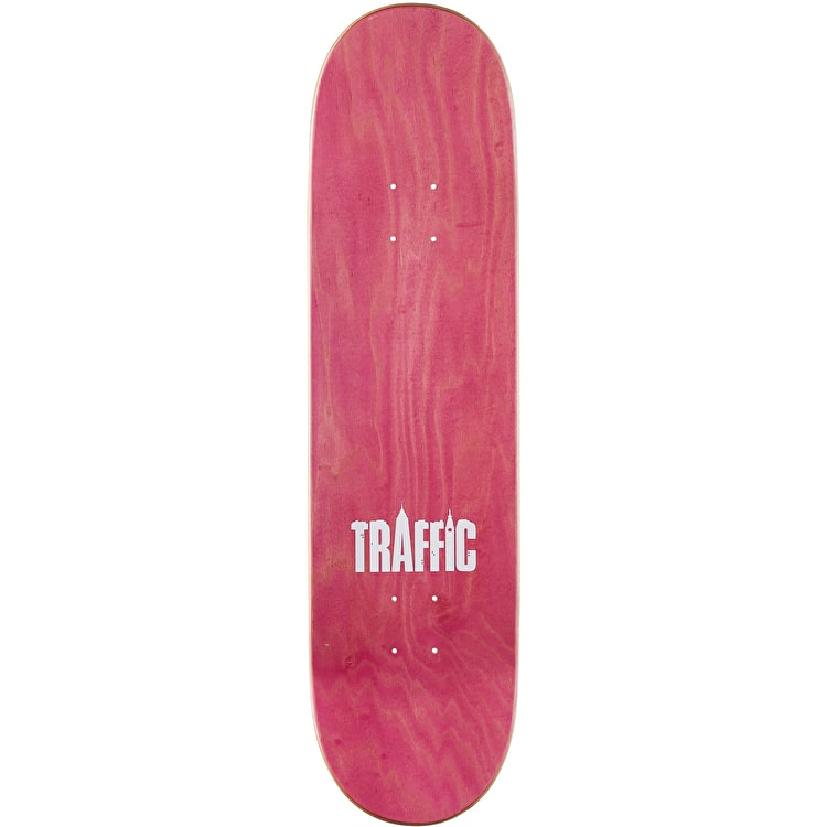 Traffic Vintage Coakley Skateboard Deck 8.4""