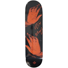 National Skateboard Co Josh Young x Catalogue Skateboard Deck - Orange 8.125