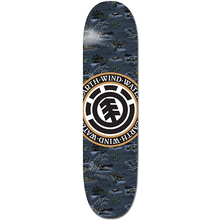 Element River Rats Seal Skateboard Deck - 8.1""