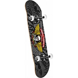 Powell Peralta Winged Ripper Complete Skateboard - Silver 8