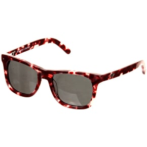 Diamond Vermont Polarised Sunglasses - Burgundy