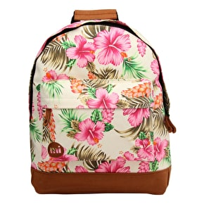 Mi-Pac Backpack - Tropical Hibiscus Natural