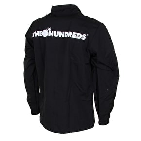 The Hundreds Bar Logo Coaches Jacket - Black