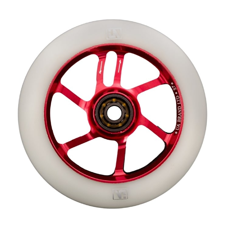 UrbanArtt S7 110mm Wheel - Red / White