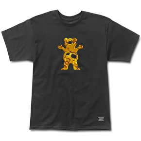 Grizzly Shatter Bear T-Shirt - Black