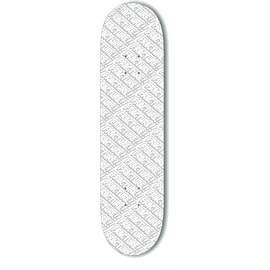 Fracture All Over Comic Skateboard Deck - White 8