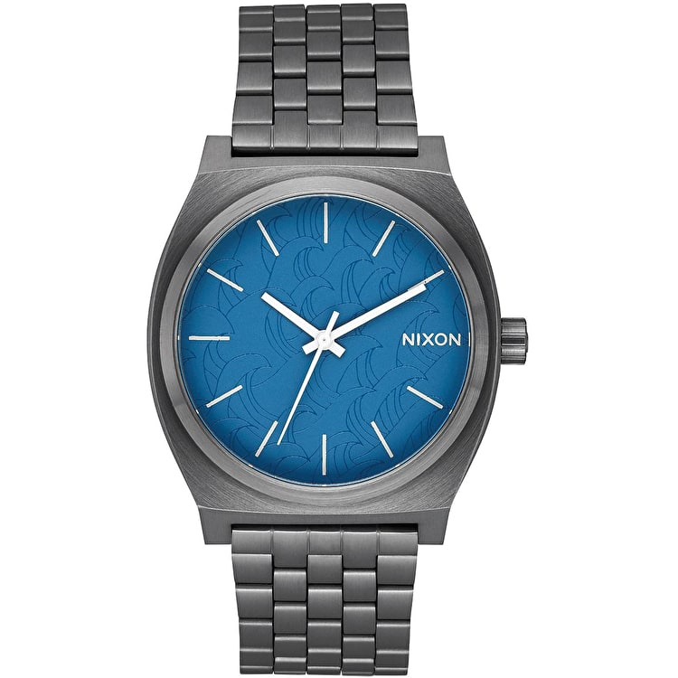 Nixon Time Teller Watch - Navy/Gunmetal