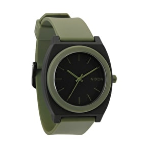 Nixon Time Teller P Watch - Matte Black / Surplus