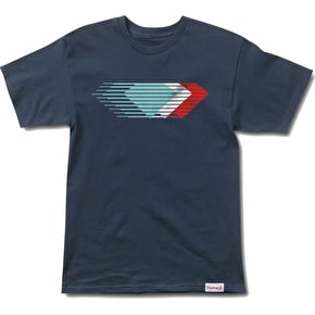 Diamond Motion T-Shirt - Navy