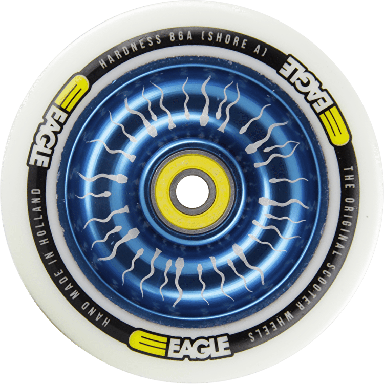 Eagle Atom Core Signature Sperm Wheels - 100mm