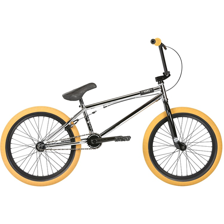 "Haro Midway 21"" TT 2019 Complete BMX - Chrome"