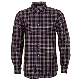 WeSC Nicky Longsleeve Shirt - Dark Chestnut