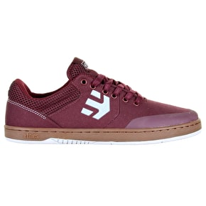 Etnies Marana Shoes - Burgundy/Gum