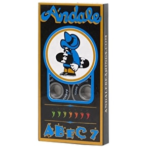 Andale Skateboard Bearings - ABEC 7 (Pack of 8)