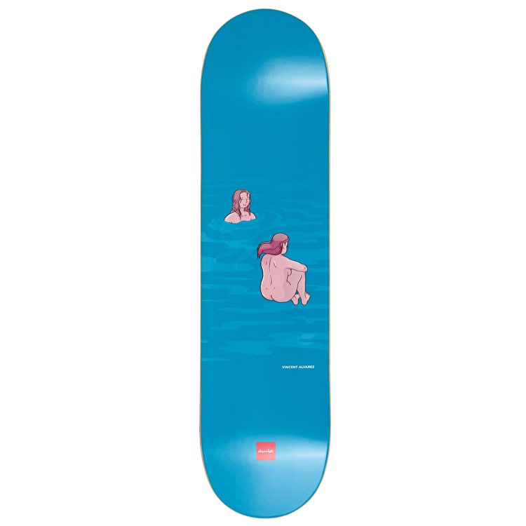 "Chocolate Sunbathers Series Skateboard Deck 8"" - Vincent Alvarez"
