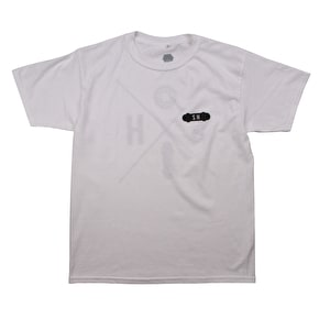 SkateHut SH X Kids T-Shirt - White/Black
