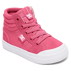 DC Evan Hi Toddlers Skate Shoes - Pink