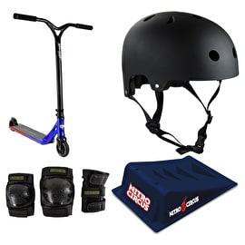 Nitro Circus R Willy CX3 Stunt Scooter Deluxe Bundle