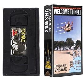 Toy Machine VHS Skateboard Wax - Welcome To Hell