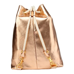 Mi-Pac Metallic Swing Bag - Rose Gold