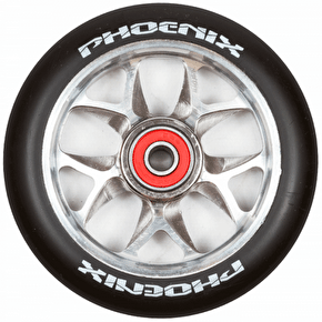 Phoenix F8 Alloy Core 110mm Scooter Wheel x 1 - Black/Titanium