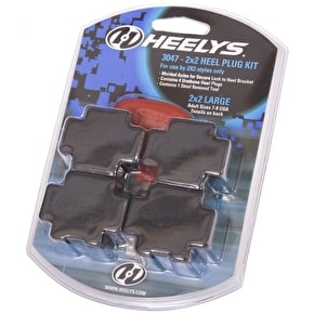 Heelys 2 Wheel Heel Plug And Tool Set