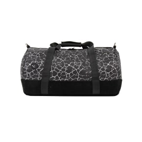 Mi-Pac Cracked Duffle Bag - Black/Silver