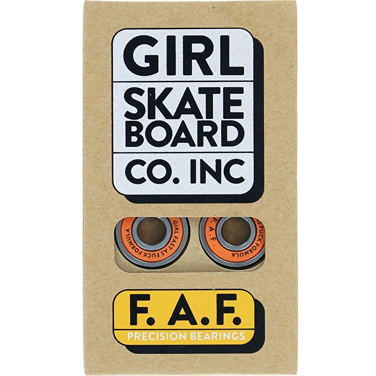 Girl Skateboard Bearings - FAF