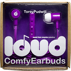 Loud Fat and Flat Earphones - Torey Pudwill
