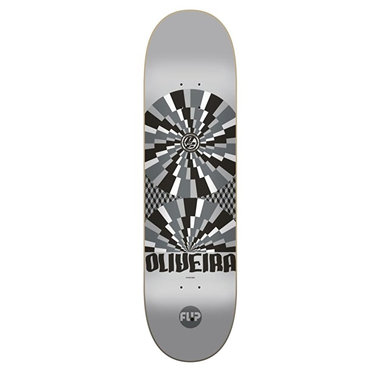 Flip Optical P2 Skateboard Deck - Oliveira 8.13""