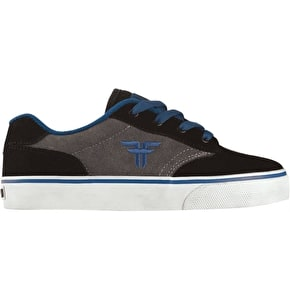 Fallen Kids Slash Skate Shoes - Black/DK Grey/Royal