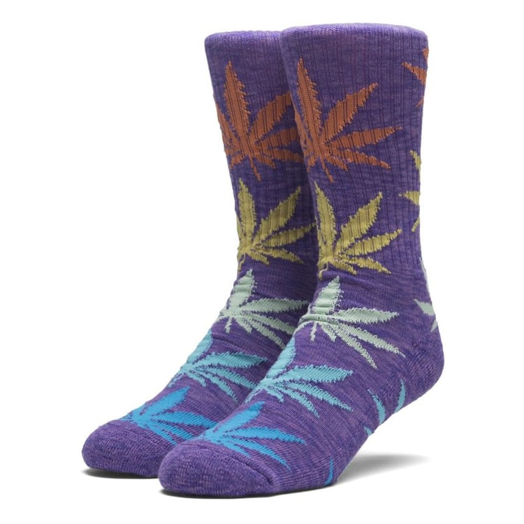Huf Melange Plantlife Socks - Purple