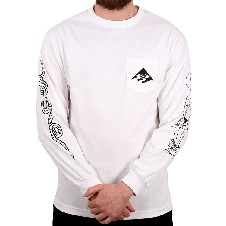Emerica Toy Long Sleeve T shirt - White