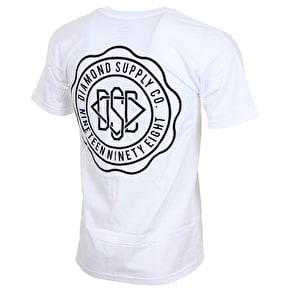 Diamond DSC Seal T-Shirt - White