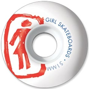 Girl Sketchy Skateboard Wheels - 51mm 98a