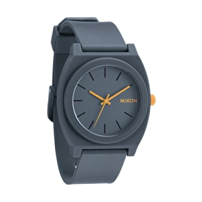 Nixon Time Teller P Watch - Matte Steel / Grey