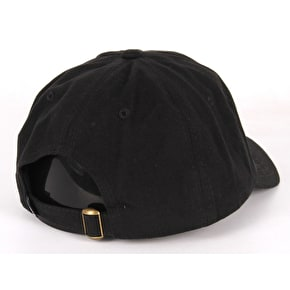 DGK Growth Strapback Cap - Black