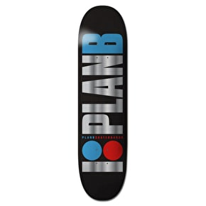 Plan B Skateboard Deck - Team OG Foil Pro Spec 8''