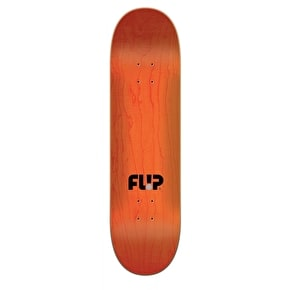 Flip Odyssey Torn Grayscale Skateboard Deck - Black/White 8.25