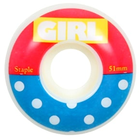 Girl Skateboard Wheels - Blocked (Pack of 4)
